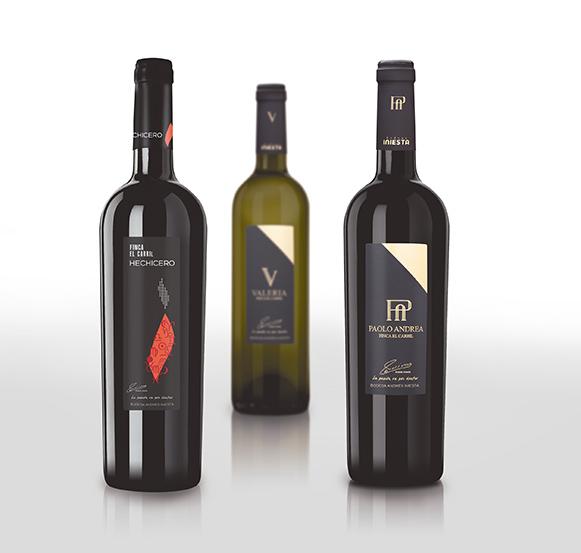 botellas Andrés Iniesta